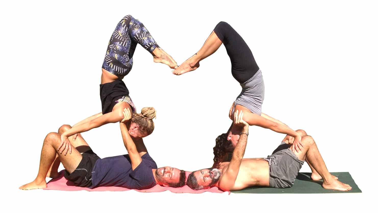 Amato Acroyoga - la nuova passione da vivere in coppia | Arte di vivere Yoga IW08